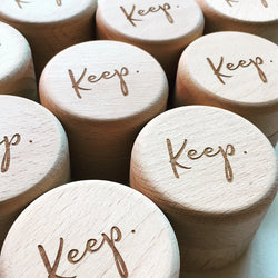 'KEEP' Keepsake Box