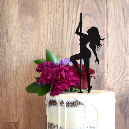 Stripper Cake Topper (other colours available)