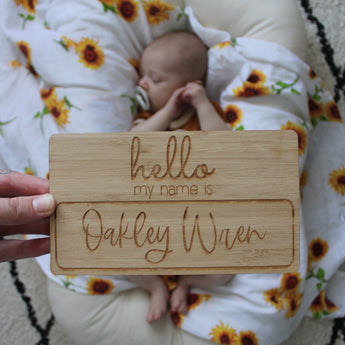 Personalised Hello Tile