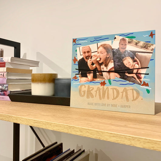 DIY Personalised Photo Plaque