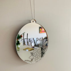 Mirror Christmas Bauble