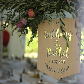 Personalised Wedding/Event Signage