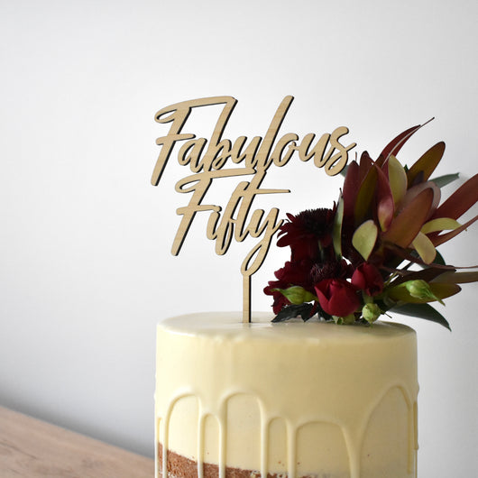 Wild Cake Topper (other colours available)