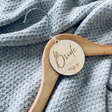 Personalised Bridal Party Hangers