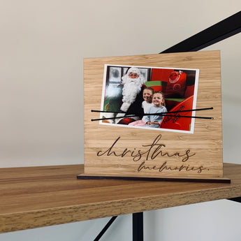 Christmas Photo Plaque