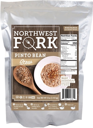 Pinto Bean Stew Individual Package NorthWest Fork