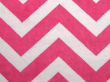 BUB Baby Wipeable Cover in Pink Chevron
