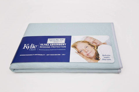 Kylie Supreme Bed sheet bed protector Lille continence