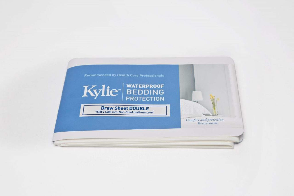 Kylie Waterproof Bedding sheet bed protector Lille continence