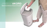 Adult Incontinence Disposal System - 41 litre odour-free bin