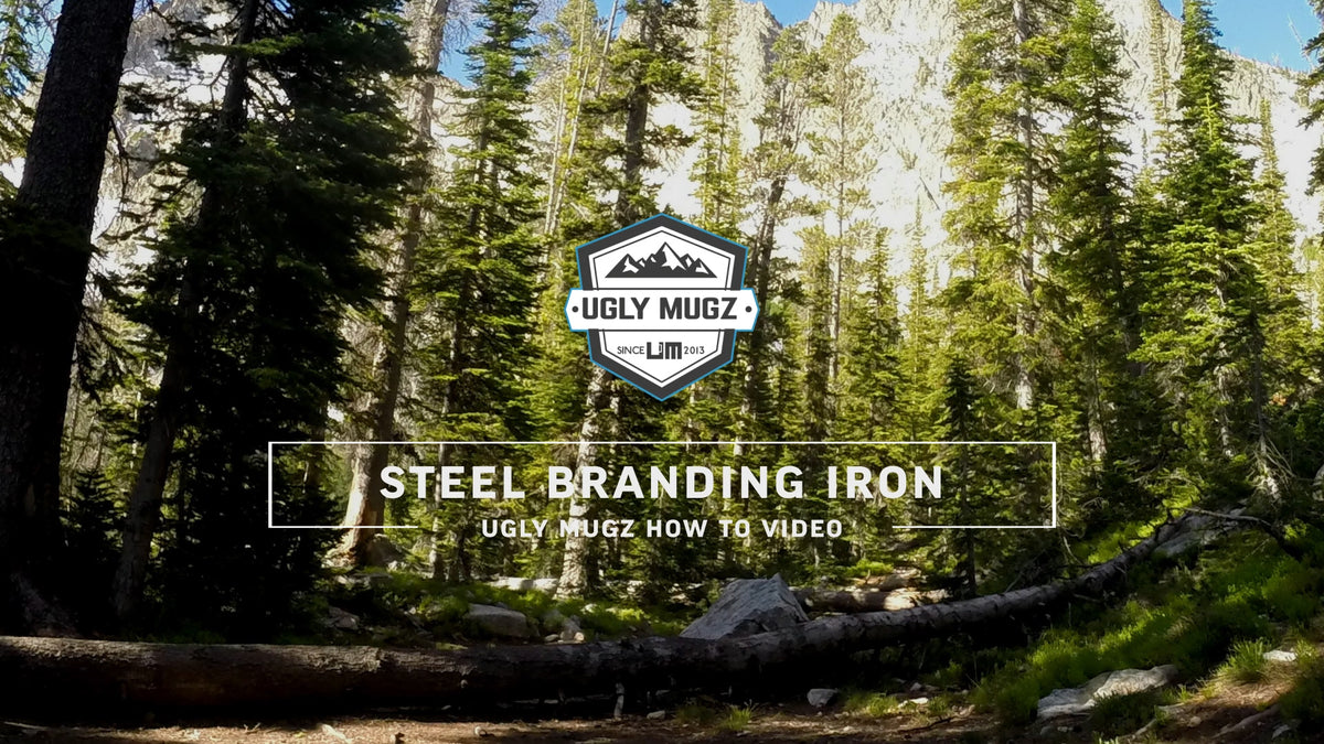 How To: Branding with a steel branding iron