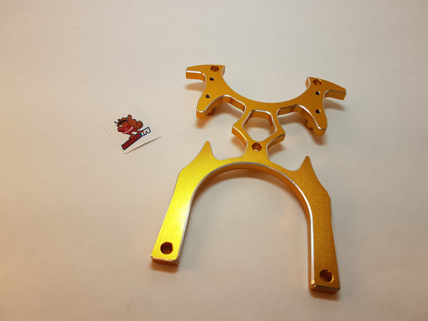 130mm Metal Transmitter Bracket - BeaverFPV