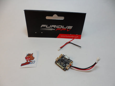 FURIOUSFPV NUKE BRUSHED MICRO FLIGHT CONTROLLER - VAPORIZE THE COMPETITION - BeaverFPV