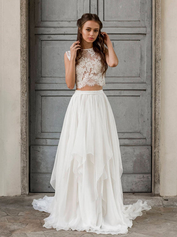 Affordable Straight Mermaid Lace Long Beautiful Wedding Dresses.DB10624