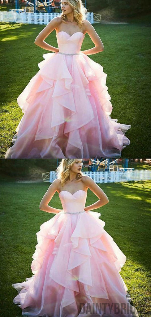 Sweetheart A-line  Wedding Party Dresses.DB10212