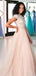 Gorgeous Beading Pink Tulle Sequin Long Prom Gown Dresses. DB1038