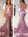 Long Sequined Sexy Sparkly Popular Spaghetti Strap Criss-Cross Mermaid Evening Party Cocktail Prom Dresses,PD0131