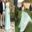 Cheap Halter Floor-length Keyhole Neck Long Prom Dresses. DB051