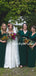 Beautiful V-neck Jersey Floor-length 1/2 Sleeve Evening Dresses Party Long Bridesmaid Dresses.DB10668
