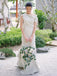 Charming Mermaid Simple Dresses Vintage Wedding Dresses, DB10734