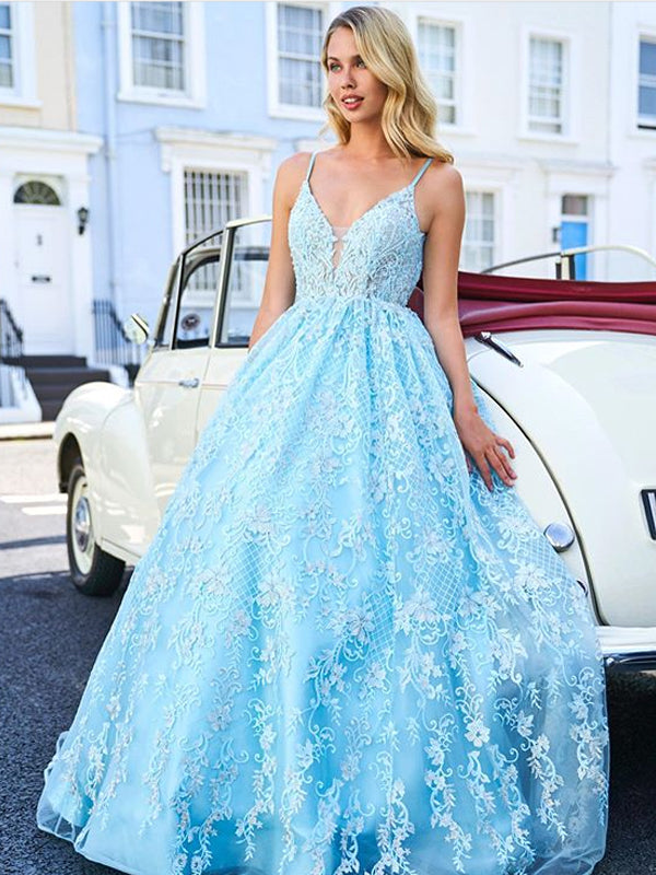 Charming V-neck Mermaid Side Slit Long Prom Dresses Evening Dresses.DB10577