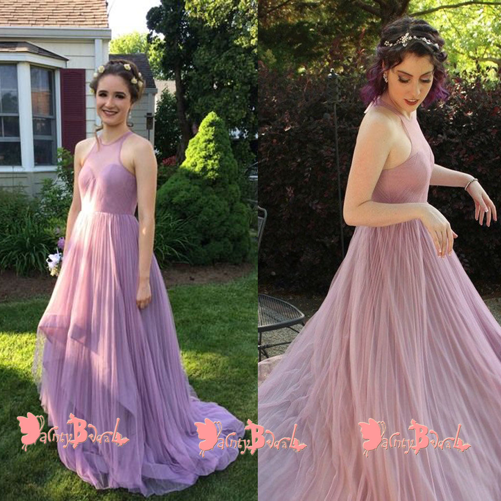 Affordable Light Purple Simple A-line Open Back Sweetheart Pleating Chiffon High Low Prom Dresses  sc 1 st  DaintyBridal & Affordable Light Purple Simple A-line Open Back Sweetheart Pleating ...