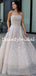 Sexy Straight A-line Tulle Lace Prom Dresses Evening Dresses.DB10792