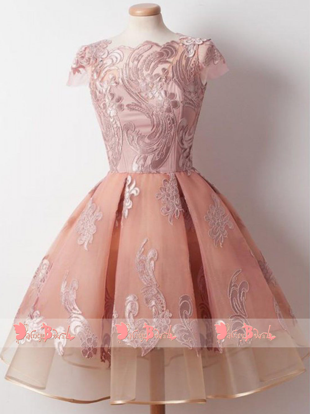 c9e6878a05a2 Sweet_Pink_Lace_Appliques_Cap_Sleeve_Keyhole_Back_Homecoming_Dresses_BD0151-1_1000x.jpg? v=1526624490