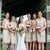 Charming Scoop Neck Full Lace Sleeveless Knee-Length Short Column Bridesmaid Dresses,DB089