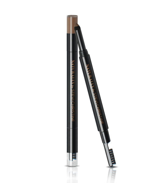 EYEBROW FILLER in DARK-an eyebrow powder with a Sponge Applicator