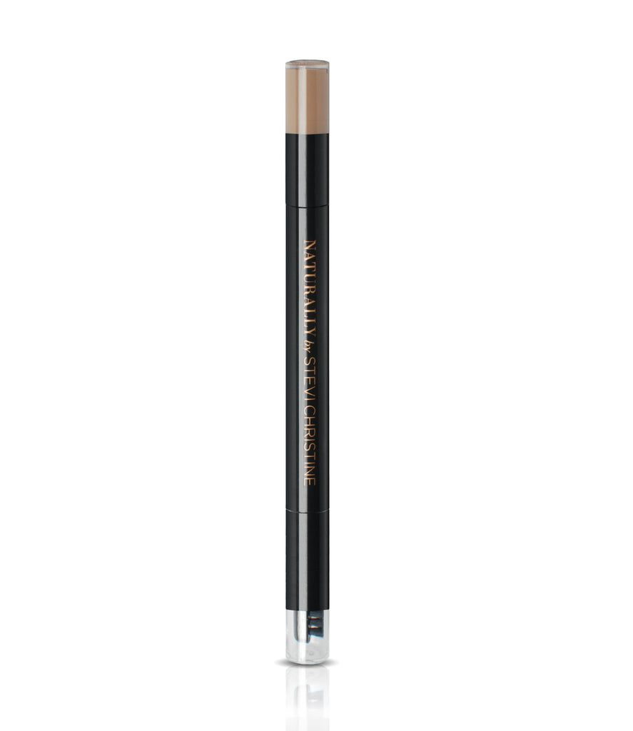 EYEBROW FILLER in LIGHT-an eyebrow powder with a Sponge Applicator