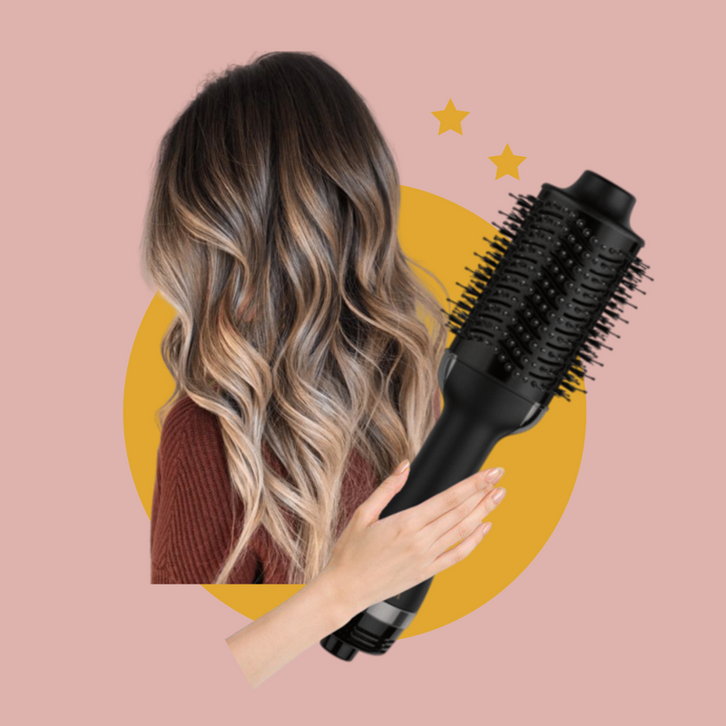 Behold, the best hair dryer brush of all time