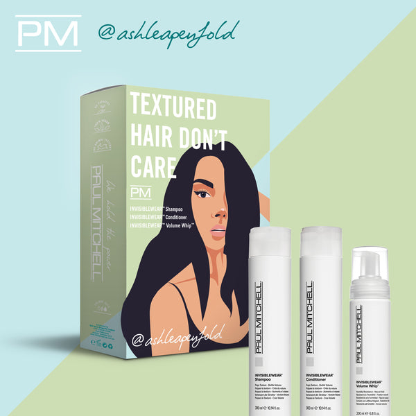 Paul Mitchell Textured Hair Don't Care Ashlea Penfold Pack