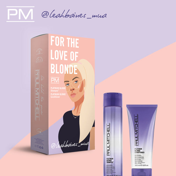 Paul Mitchell For The Love of Blonde Leah Baines Pack