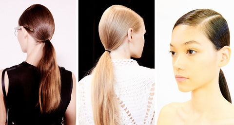 Loewe Fashion Week Hairstyles
