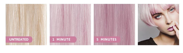 muvo ultra rose shampoo pink hair colour