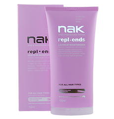 Previous Packaging of NAK REPLENDS CRÈME LEAVE IN MOISTURISER 150ML