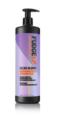 Fudge Clean Blonde Violet Toning Conditioner 1000ml