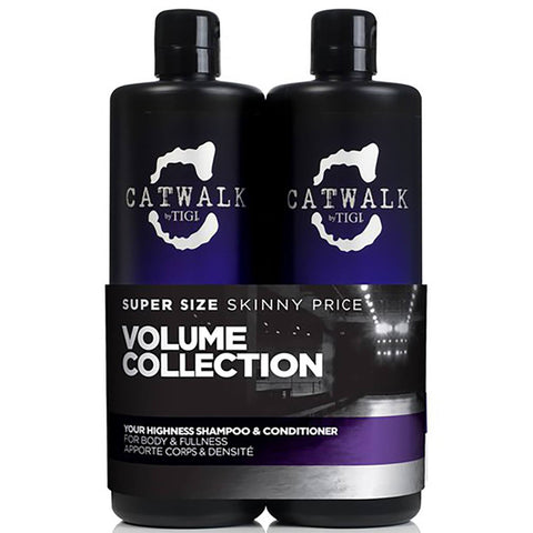 Tigi Catwalk Your Highness Shampoo and Conditioner 750mL