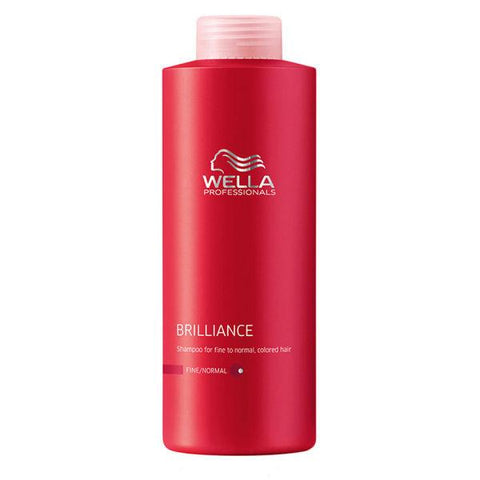 Wella Professionals Brilliance Shampoo 1000ml - 21.95