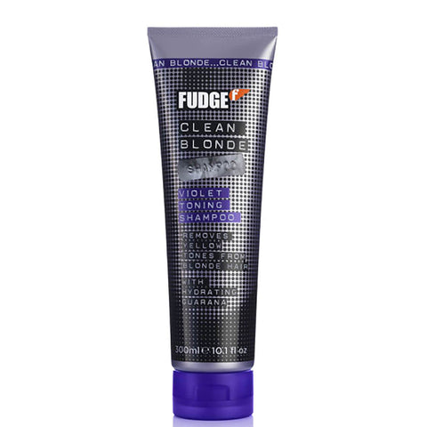 Fudge Clean Blonde Violet Toning Shampoo 300ml Old Packaging