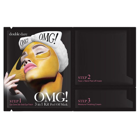 OMG Mask 3 in 1 Kit Peel Off Mask
