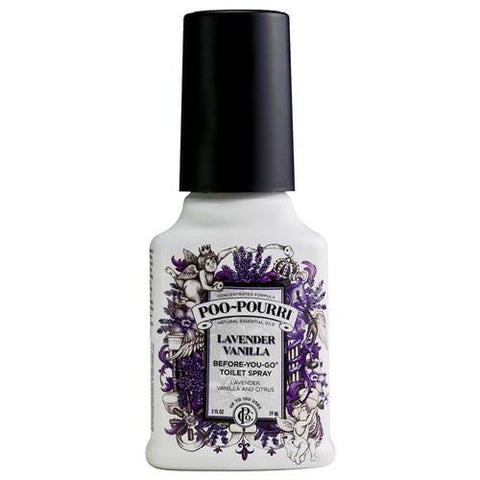 Poo Pourri Lavender Vanilla Toilet Spray 59ml - 15.45