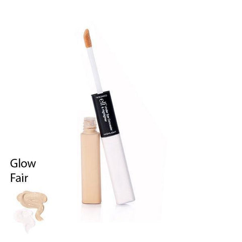 elf Under Eye Concealer & Highlighter Fair/Glow 2 x 6ml