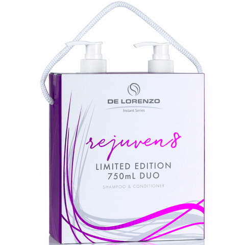 De Lorenzo Instant Rejuven8 Shampoo and Conditioner 750ml Duo Pack