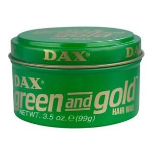 Dax Green & Gold Hair Wax 99g