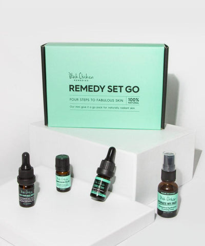 Black Chicken Remedies Remedy-Set-Go - Natural Skincare Trial Pack