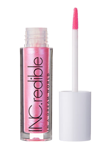 INC.redible In A Dream World Iridescent Lip Gloss Anything Flaming Goes - Pink 3.48g
