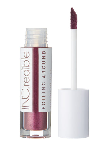 INC.redible Foiling Around Metallic Lip Paint Oh Yeah, You Did - Mauve 3.40g