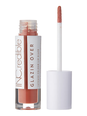 INC.redible Glazin Over Intense Colour Lip Glaze #Weekend - Sunkissed Nude 3.40g
